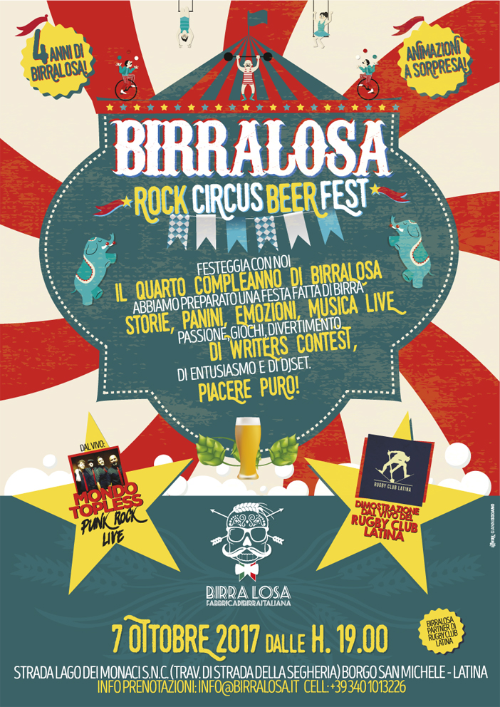 Rock Circus Beer Fest