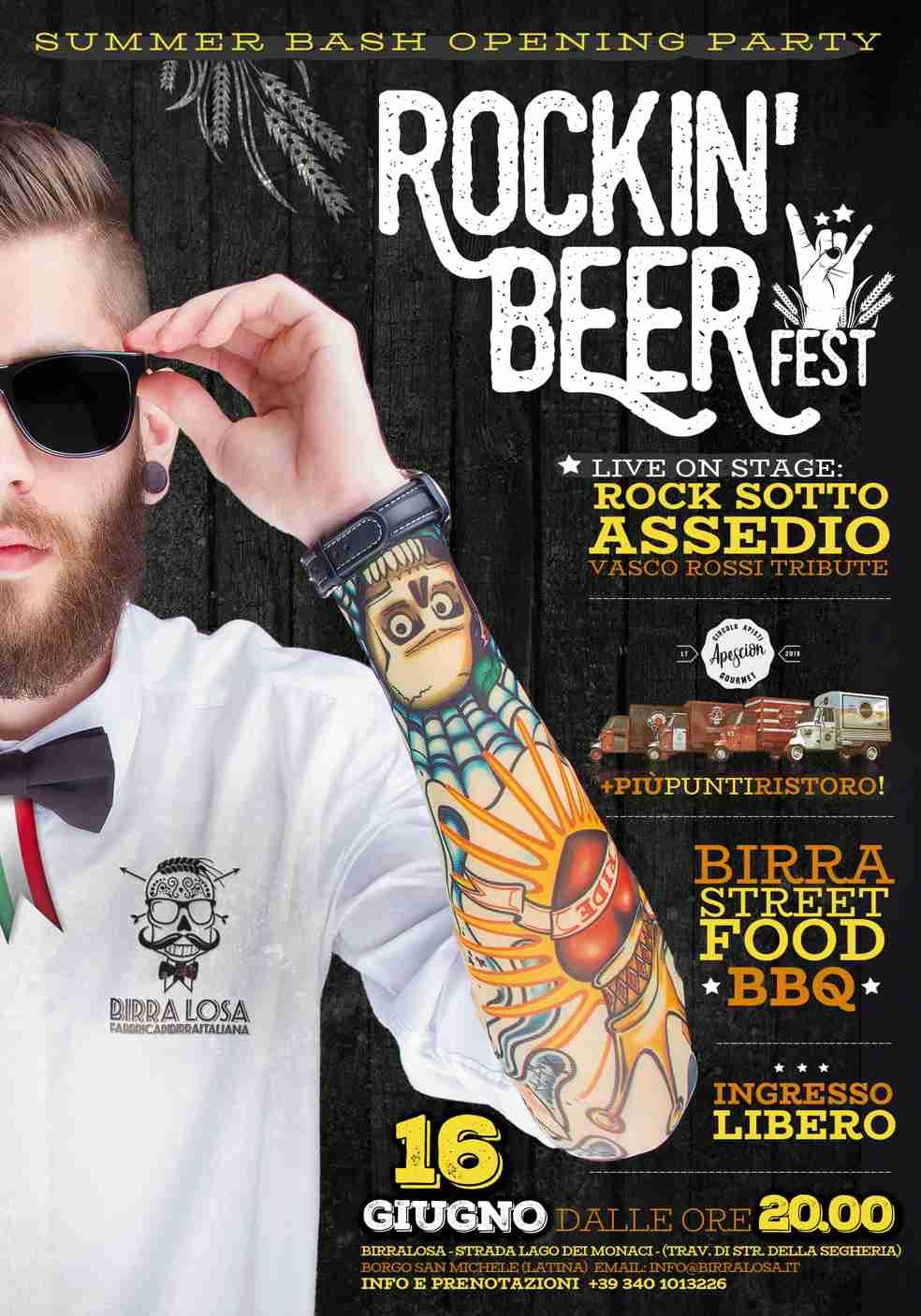 Rocki'n Beer Fest 16 giugno