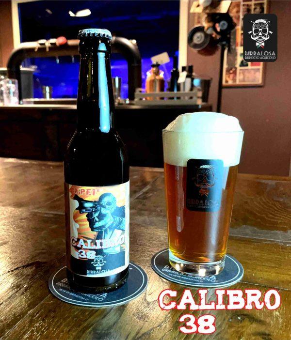 Calibro 38 Tripel (rivisitata) Birra Losa